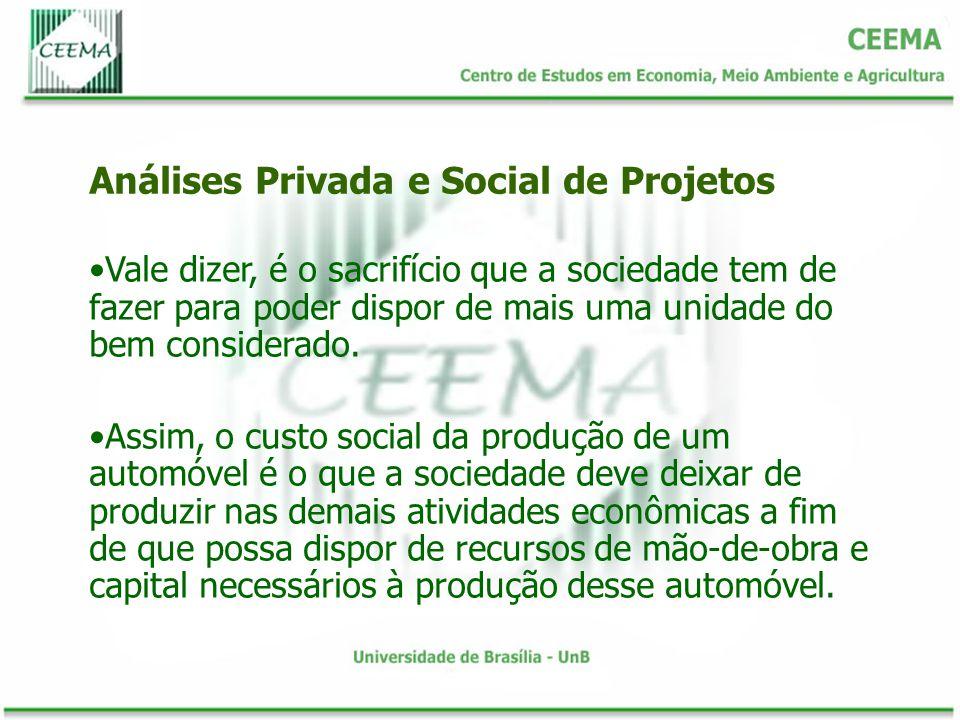 O imposto de renda pago pelas empresas, por exemplo, deve ser considerado como parte do rendimento social do capital, embora o empresário privado somente considere como rendimento do capital o lucro depois de deduzido o imposto.