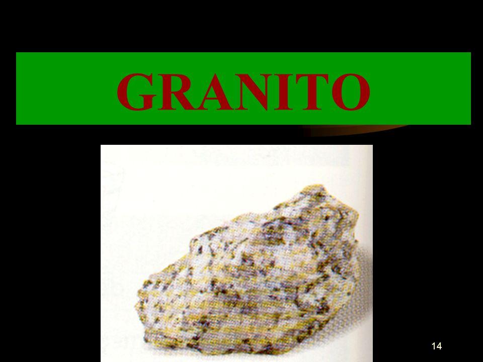 13 Esta rocha é constituída pela mesma substância que o calcário, mas é brilhante e tem cristais. Serve para fazer estátuas, ornamentar pavimentos, pa