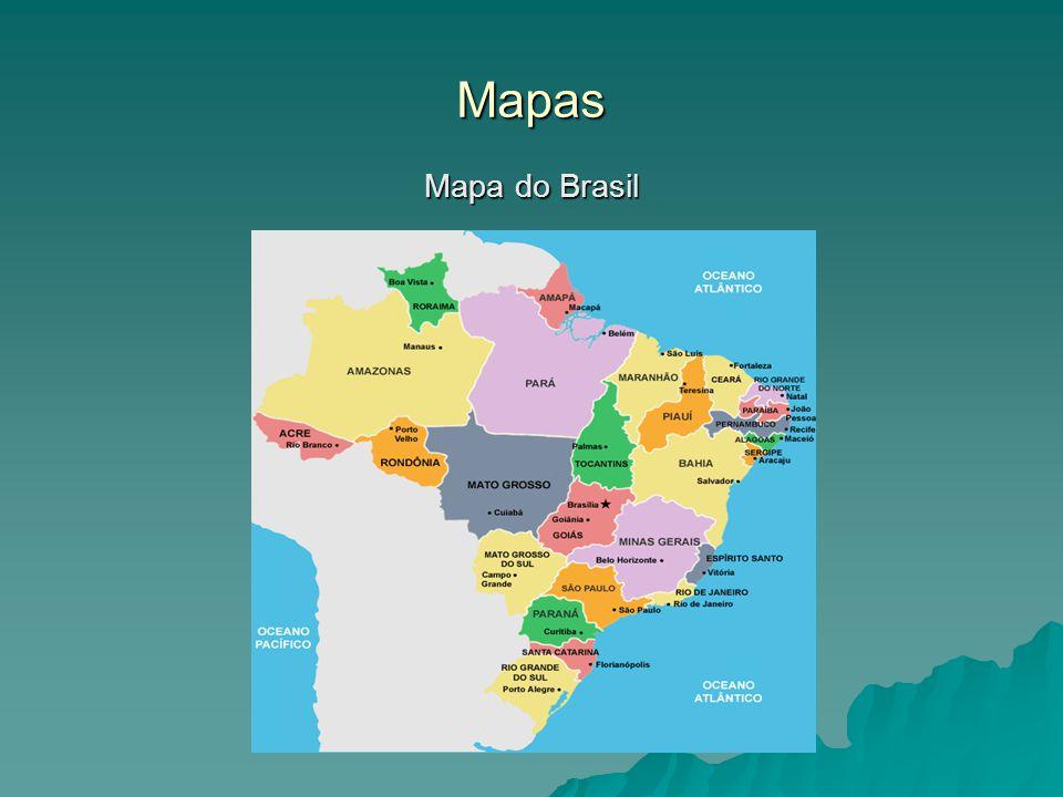 Mapas Mapa do Brasil