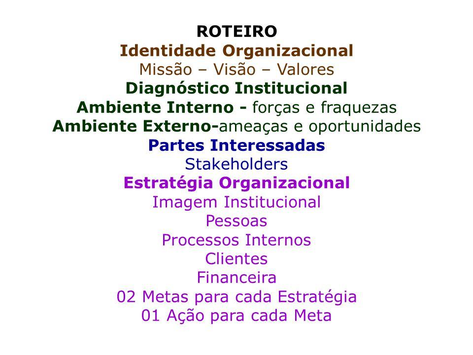 PLANEJAMENTO ESTRATÉGICO PARTICIPATIVO NAS ORGANIZAÇÕES CONSTRUINDO UM PLANEJAMENTO