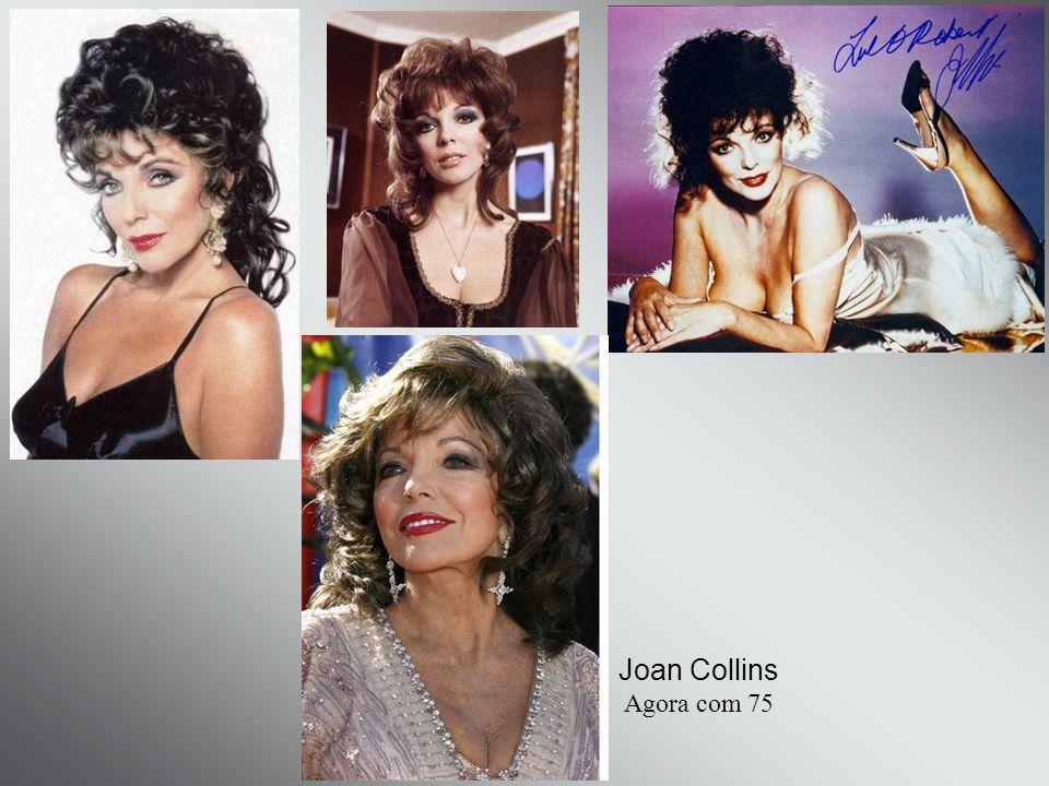 Joan Collins Agora com 75