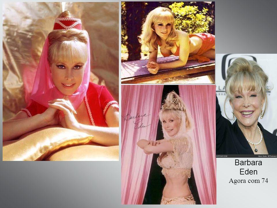 Barbara Eden Agora com 74