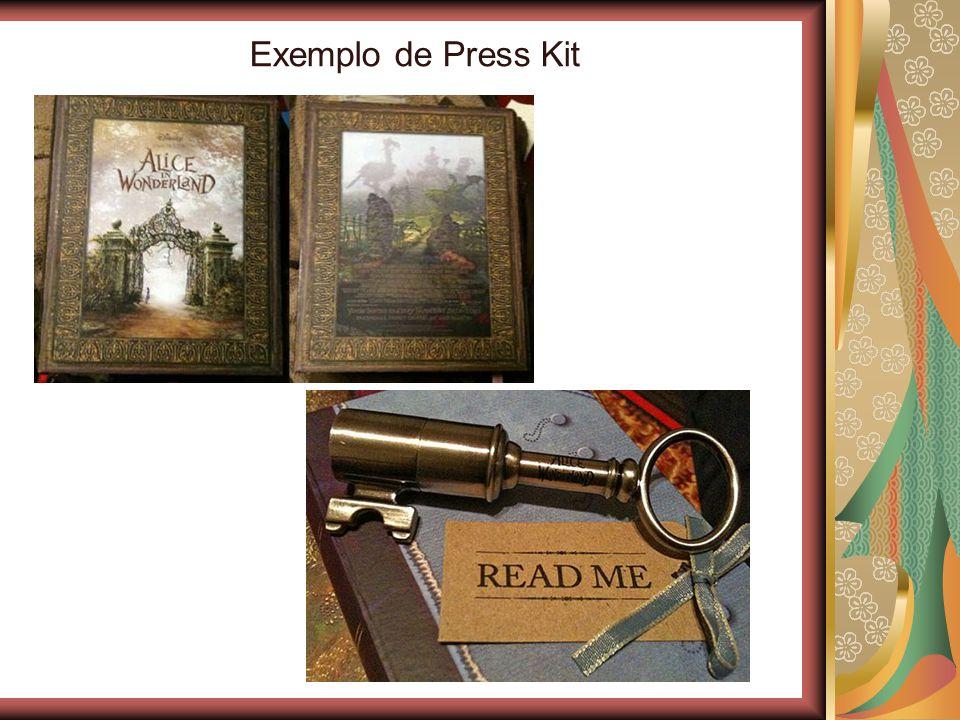 Exemplo de Press Kit