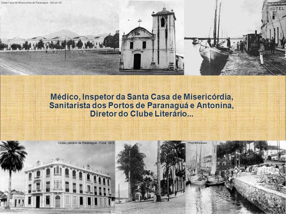 Dr. Leocádio foi um médico na verdadeira acepção da palavra, tendo clinicado nos municípios de Paranaguá, Guaratuba, Guaraqueçaba, Antonina, Morretes,