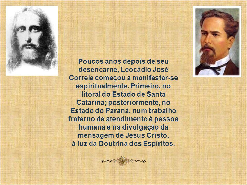 Após tantas realizações, Leocádio José Correia faleceu no dia 18 de maio de 1886, vítima de febre perniciosa. Foi um fato enormemente pranteado, espec
