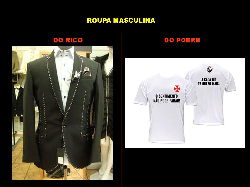 DO RICODO POBRE ROUPA MASCULINA