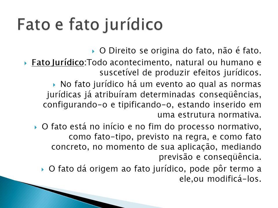 Os fatos Jurídicos constituem gênero que inclui eventos puramente naturais (fatos jurídicos em sentido restrito), e atos humanos de que derivam efeitos jurídicos, quais sejam, atos jurídicos e atos ilícitos.