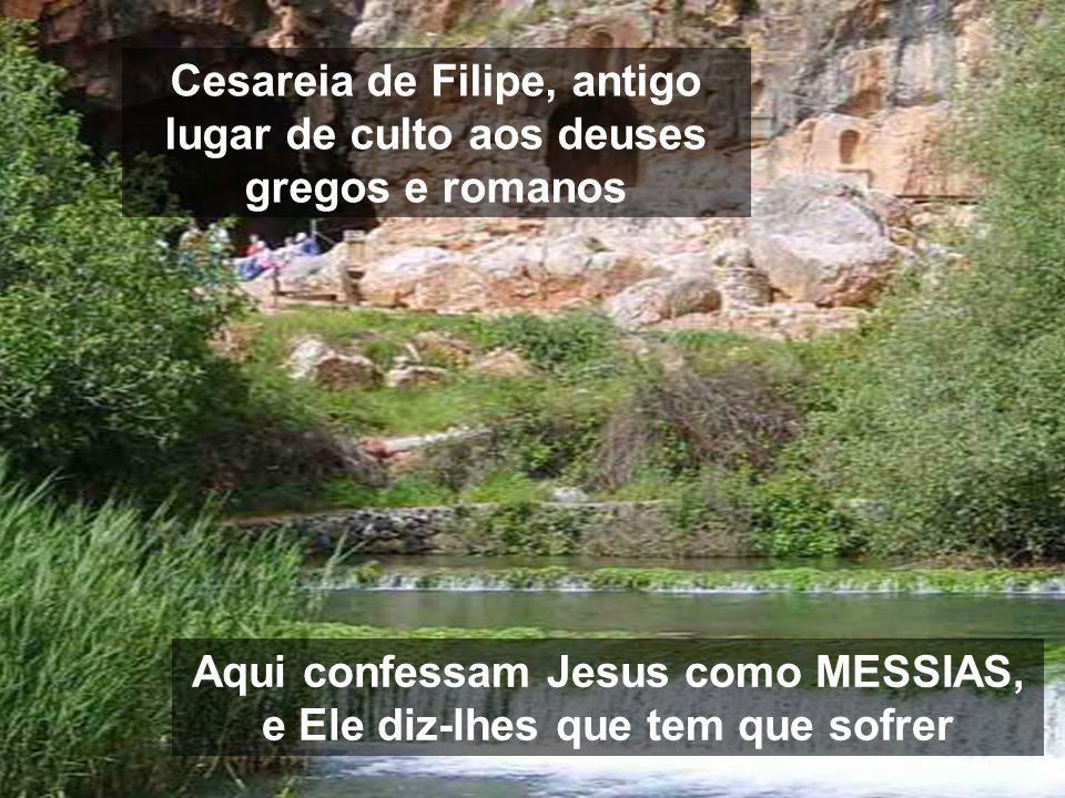 Os milagres do princípio, são para que reconheçamos Jesus como Messias Salvador. Agora, na 2ª parte, devemos reconhecê-lo como Messias sofredor Imagen