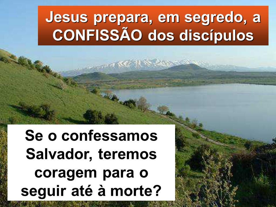 Mc 8, 27-35 Naquele tempo, Jesus partiu com os seus discípulos para as povoações de Cesareia de Filipe. Mc 8, 27-35 Naquele tempo, Jesus partiu com os
