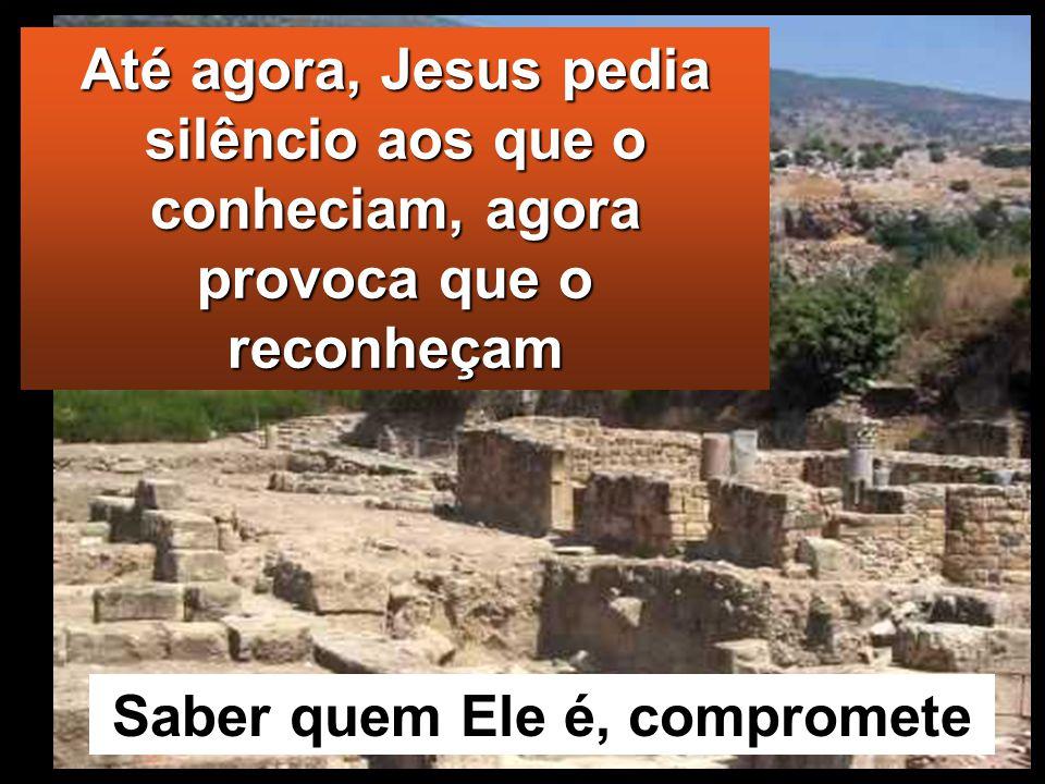 No caminho, fez-lhes esta pergunta: «Quem dizem os homens que Eu sou?» Eles responderam: «Uns dizem João Baptista; outros, Elias; e outros, um dos pro