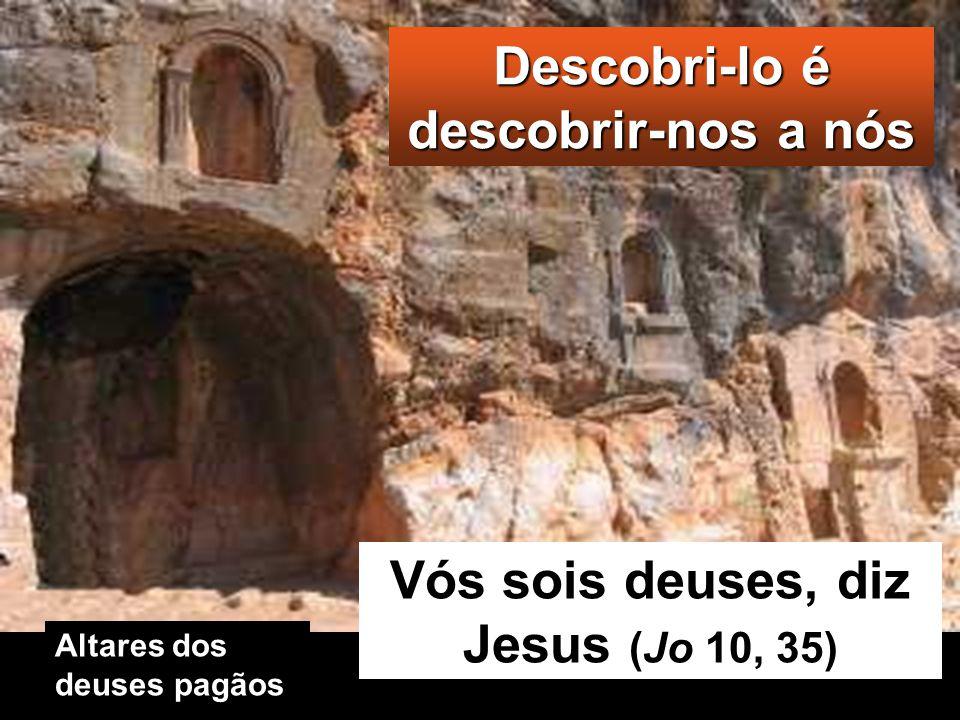 Jesus então pergun- tou-lhes: «E vós, quem dizeis que eu sou?» Pedro tomou a palavra e respondeu: «Tu és o Messias».