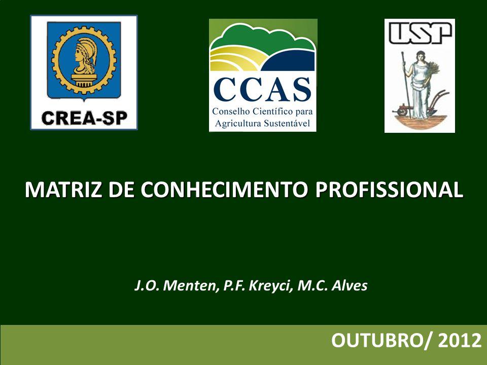 Introdução ATIVIDADES MATRIZ DE CONHECIMENTO PROFISSIONAL ATRIBUIÇÕES PROFISSIONAIS