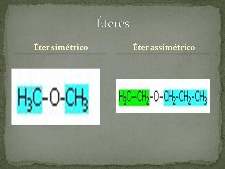 Éter simétricoÉter assimétrico