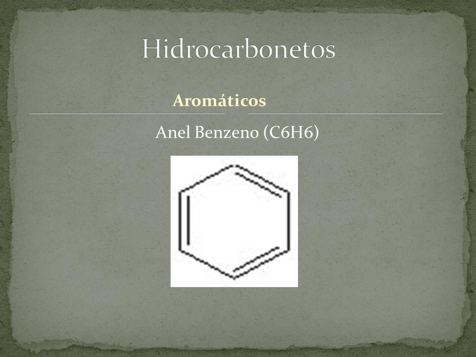 Aromáticos Anel Benzeno (C6H6)