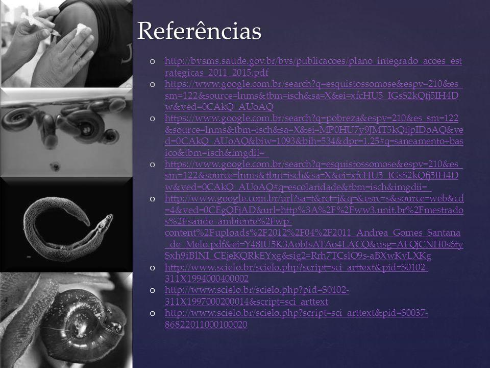 Referências o http://bvsms.saude.gov.br/bvs/publicacoes/plano_integrado_acoes_est rategicas_2011_2015.pdf http://bvsms.saude.gov.br/bvs/publicacoes/pl