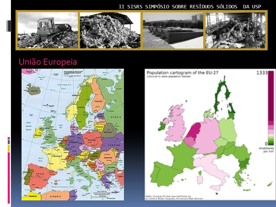 II SISRS SIMPÓSIO SOBRE RESÍDUOS SÓLIDOS DA USP União Europeia