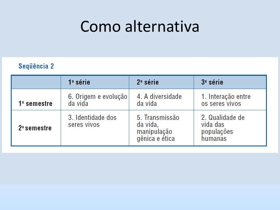 Como alternativa