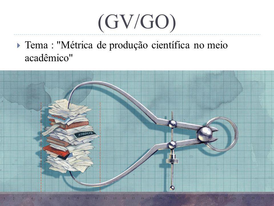 (GV/GO) Tema :