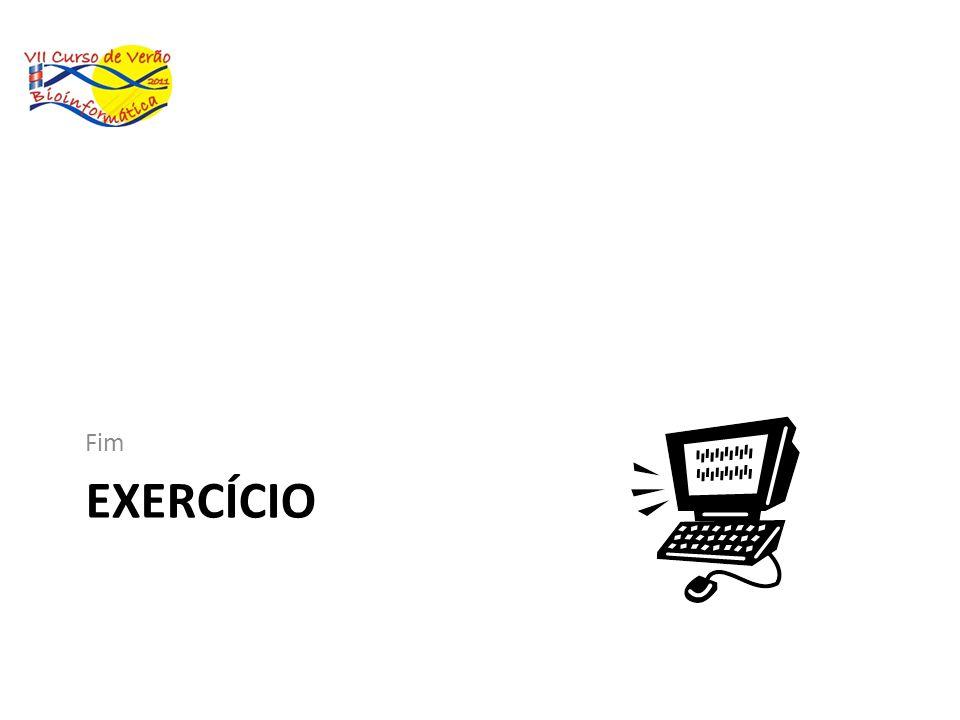 EXERCÍCIO Fim