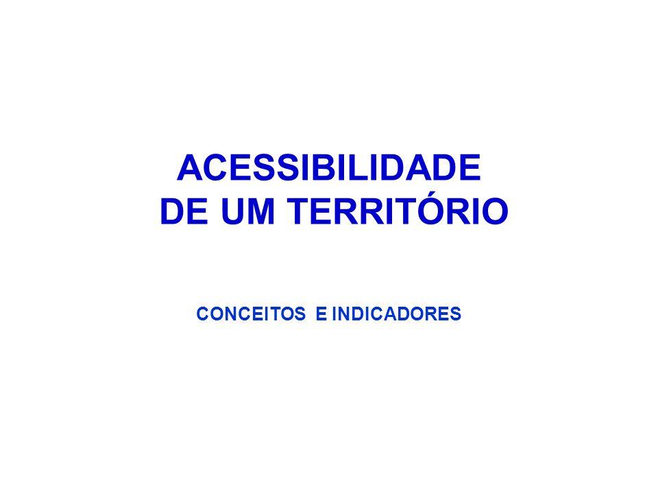 Há 2 tipos de acessibilidade: oMacro acessibilidade – é função da abrangência espacial e da operação do sistema viário e do sistema de transporte coletivo.