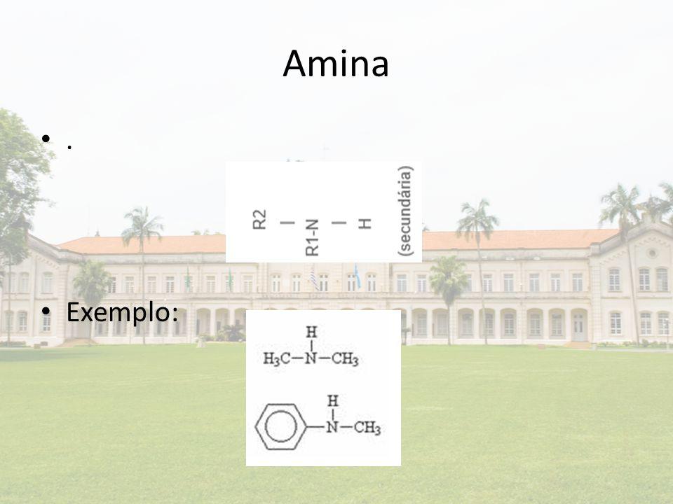 Amina. Exemplo:
