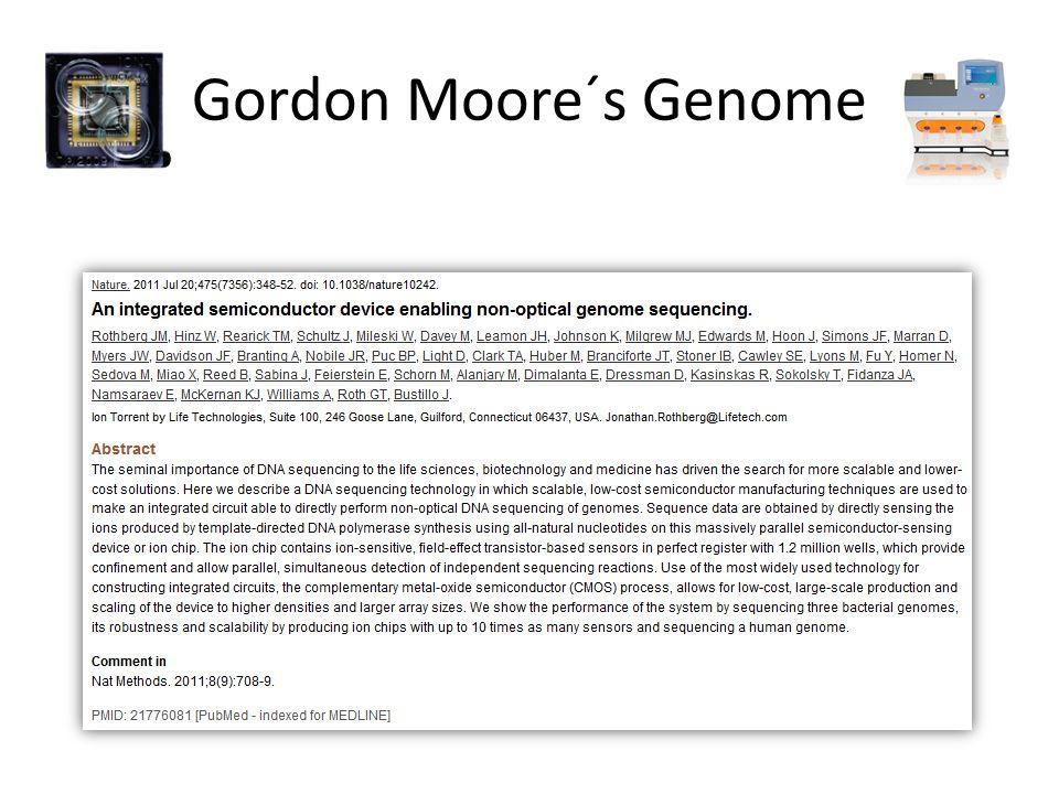Gordon Moore´s Genome