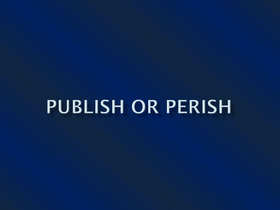 Posição dos Editores em relação às perspectivas de publicação.