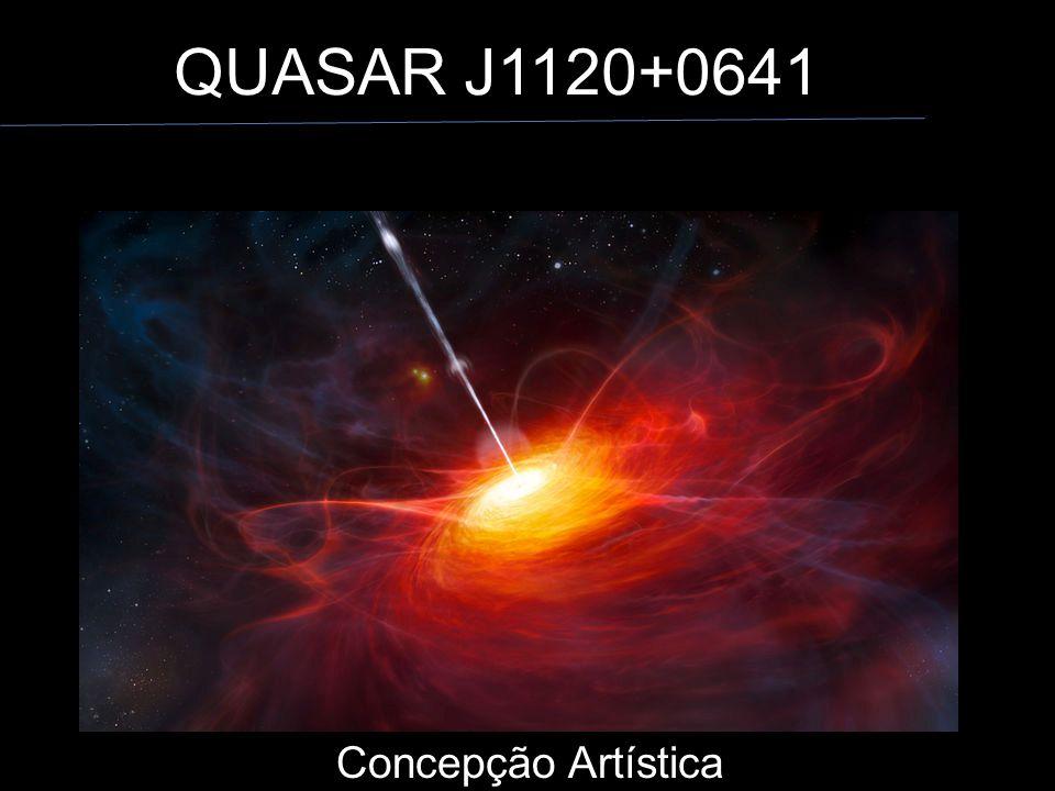 QUASAR J1120+0641 Concepção Artística