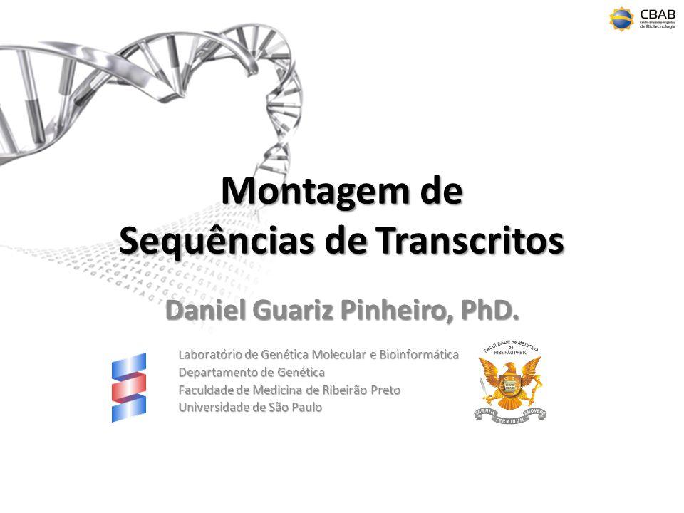 Montagem de Sequências de Transcritos Daniel Guariz Pinheiro, PhD.