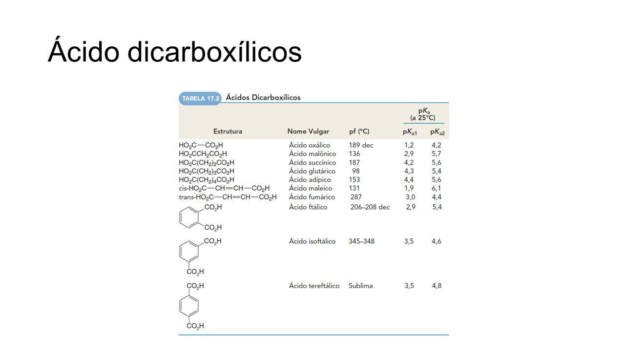 Ácido dicarboxílicos