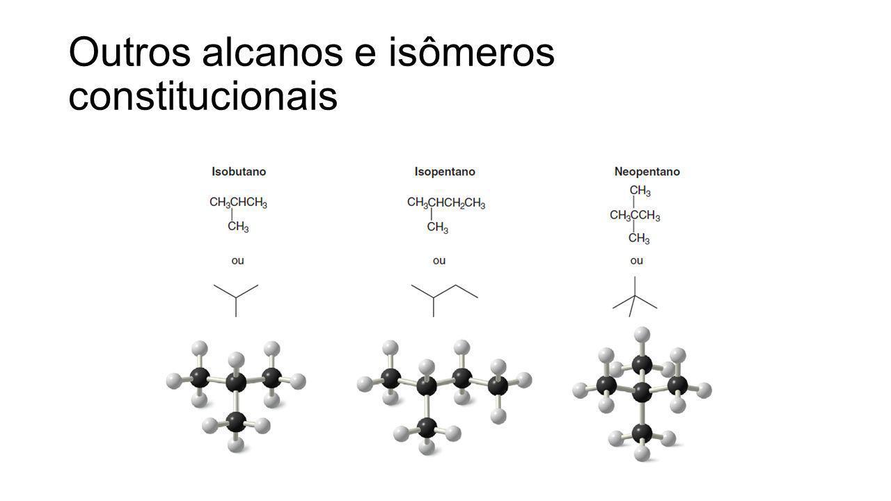 Outros alcanos e isômeros constitucionais