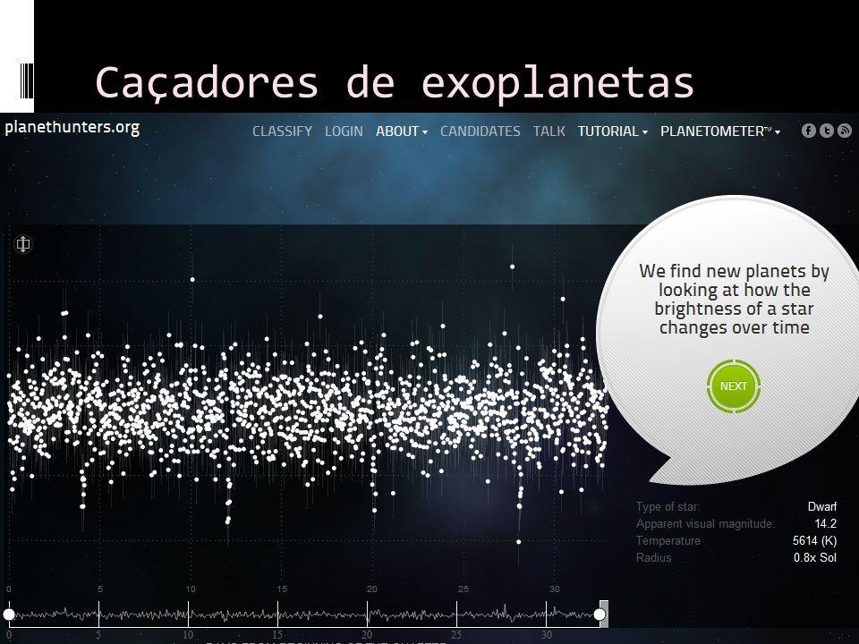 Caçadores de exoplanetas