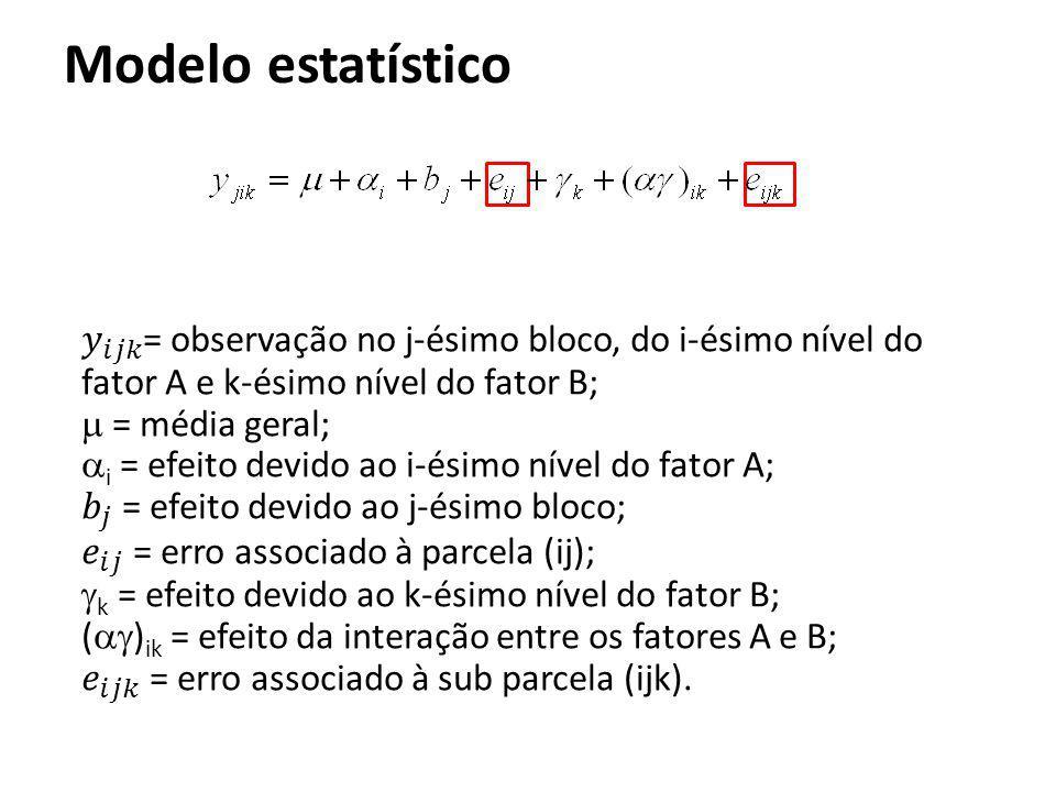 Modelo estatístico