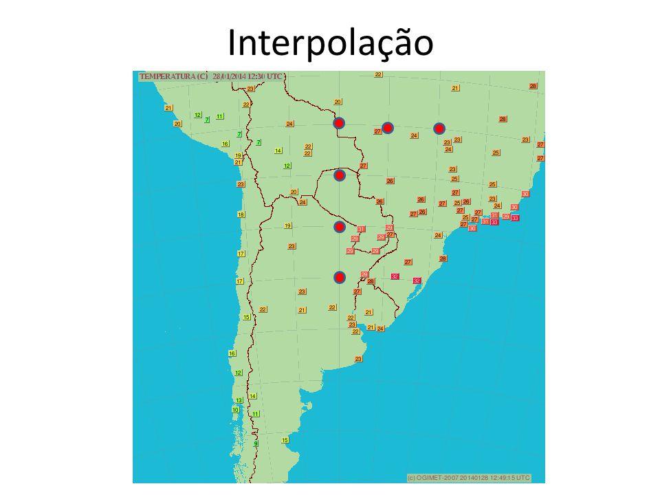 Análise objetiva É o processo de interpolar dados irregularmente espaçados para uma grade fixa http://hurri.kean.edu/~yoh/synoptic/chapter12/barnes.html