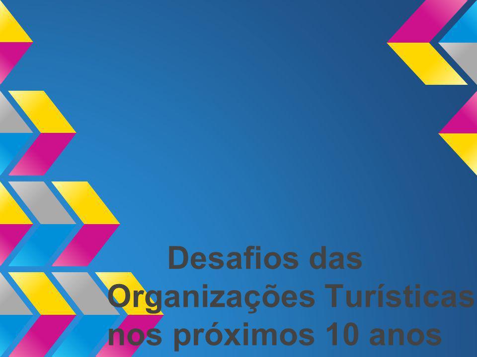 Desafios das Organizações Turísticas nos próximos 10 anos