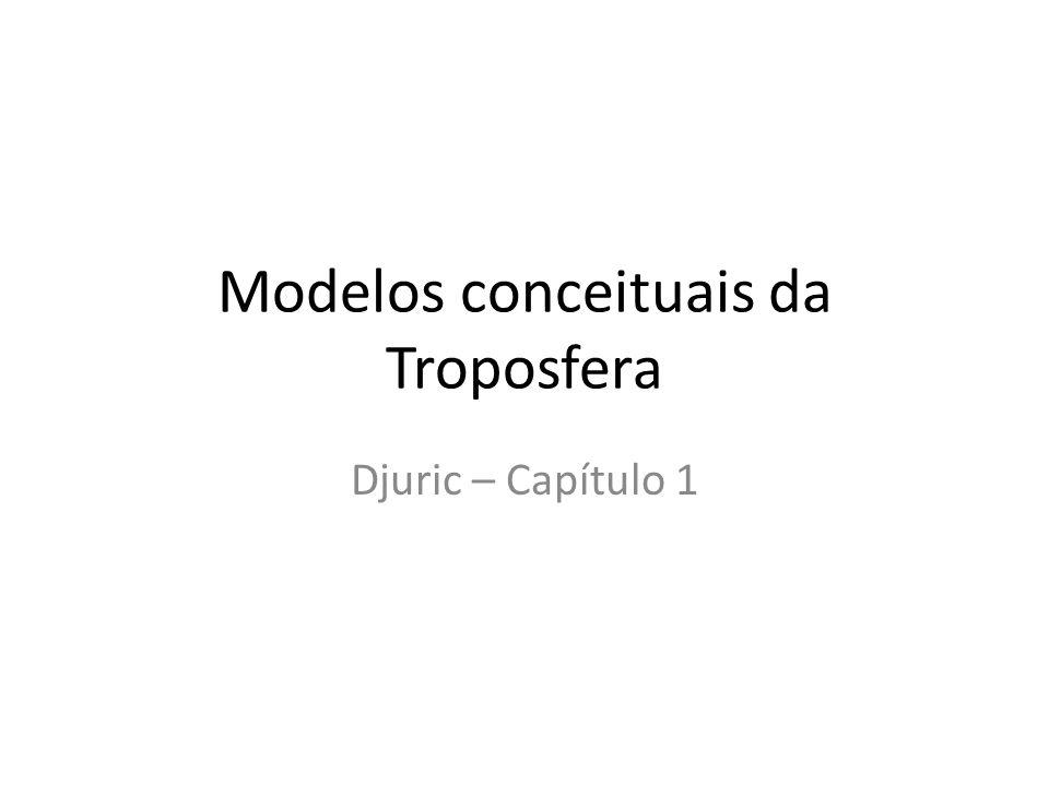 Modelos conceituais da Troposfera Djuric – Capítulo 1