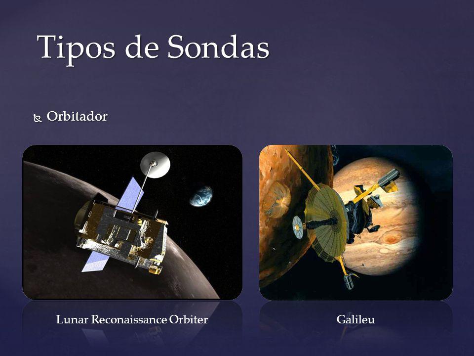 Orbitador Orbitador Tipos de Sondas Lunar Reconaissance OrbiterGalileu