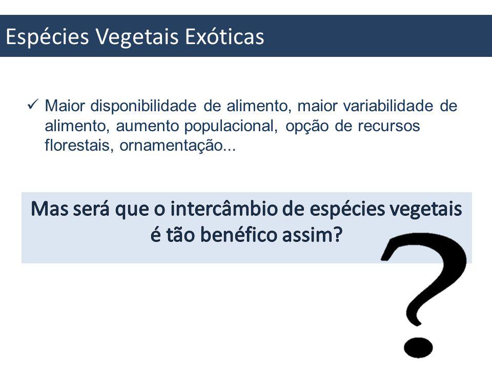 Espécies Vegetais Exóticas Invasoras
