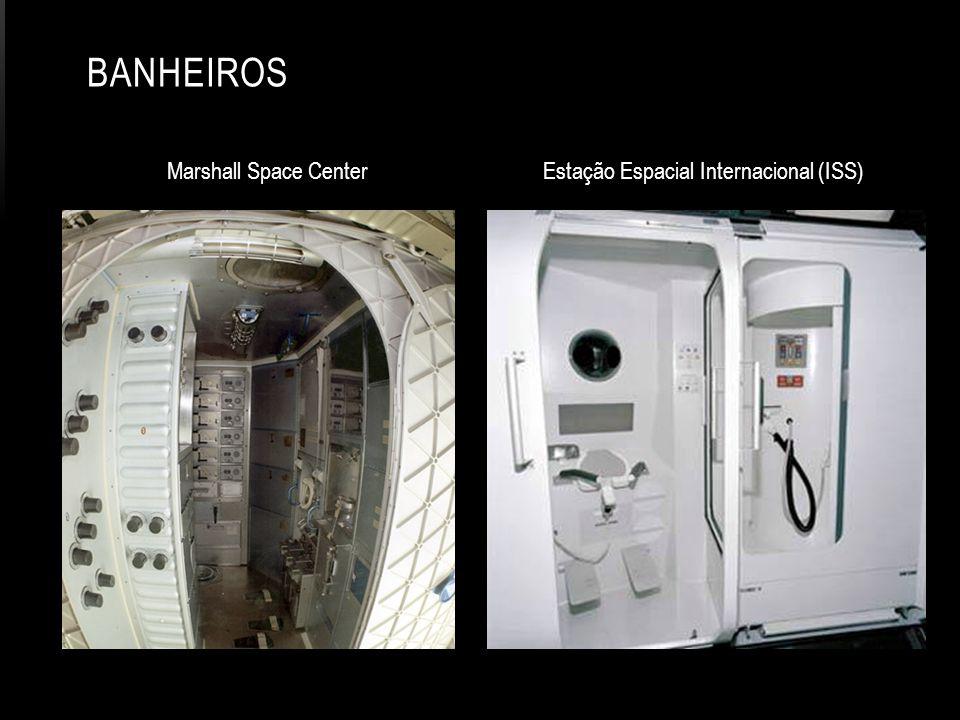 Marshall Space Center Estação Espacial Internacional (ISS) BANHEIROS
