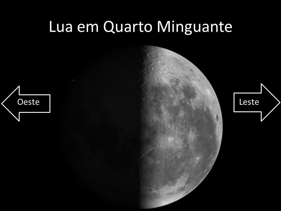 Lua em Quarto Minguante OesteLeste