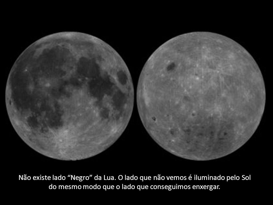Não existe lado Negro da Lua.