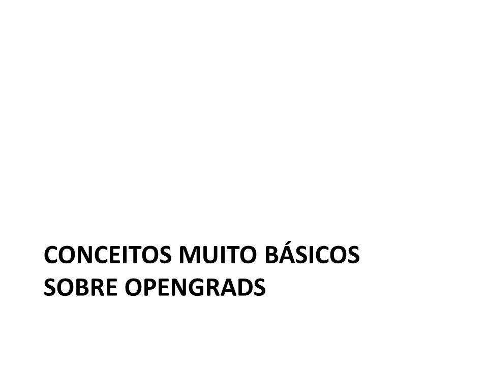 CONCEITOS MUITO BÁSICOS SOBRE OPENGRADS
