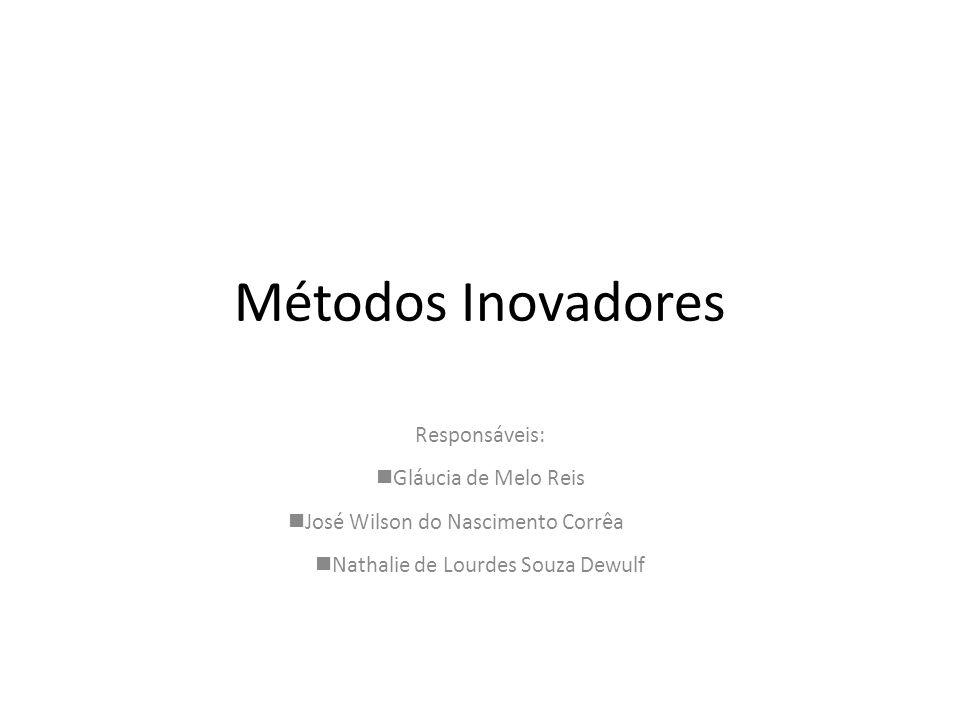 Métodos Inovadores Responsáveis: Gláucia de Melo Reis José Wilson do Nascimento Corrêa Nathalie de Lourdes Souza Dewulf