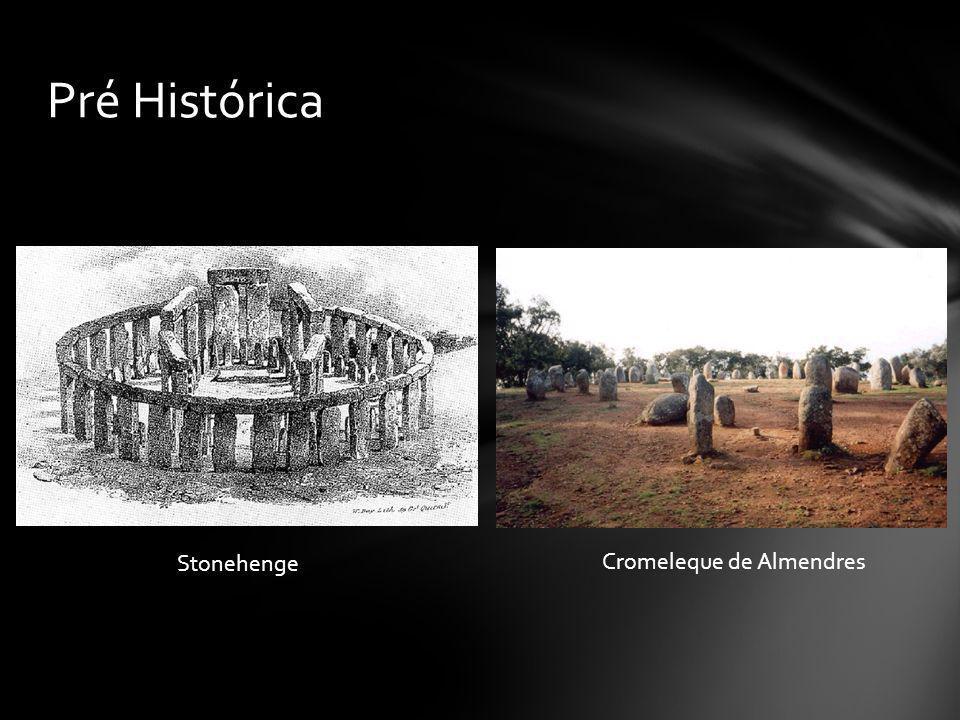 Pré Histórica Stonehenge Cromeleque de Almendres