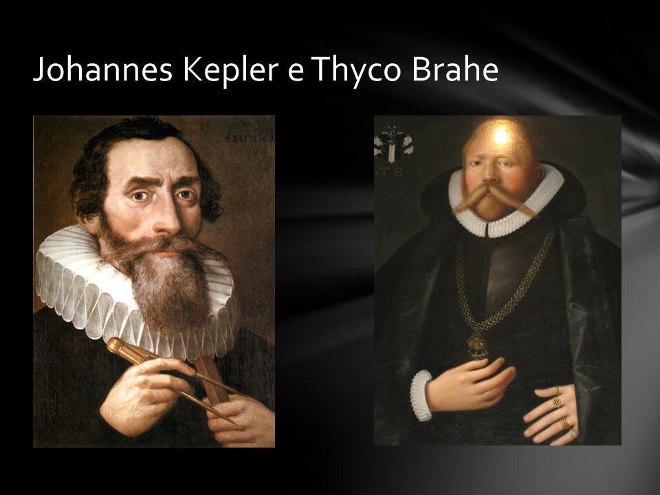 Johannes Kepler e Thyco Brahe