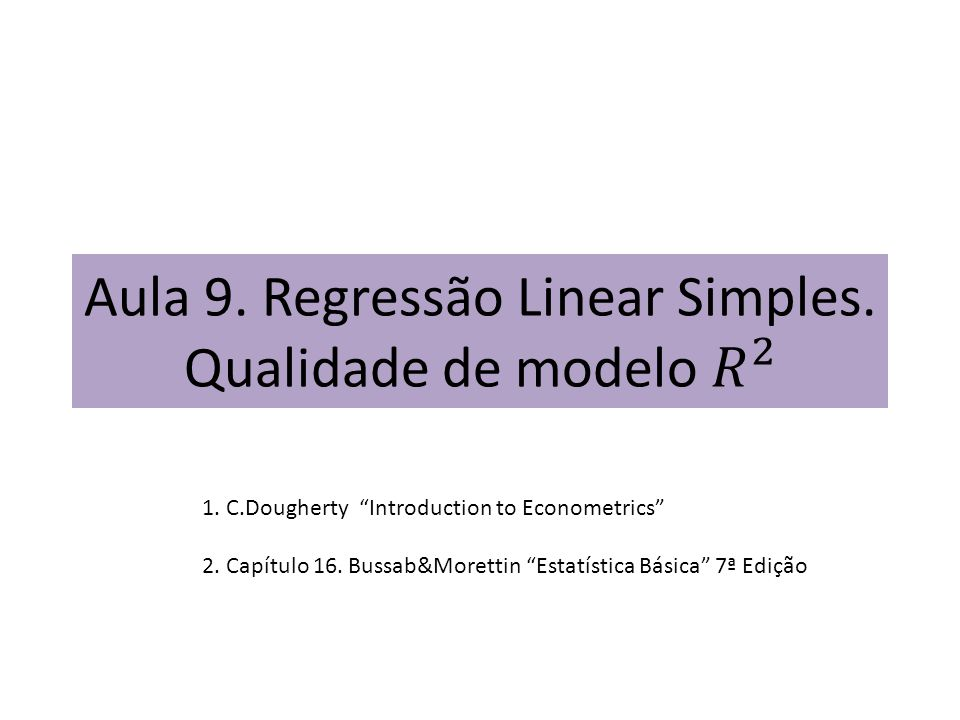 1.C.Dougherty Introduction to Econometrics 2. Capítulo 16.