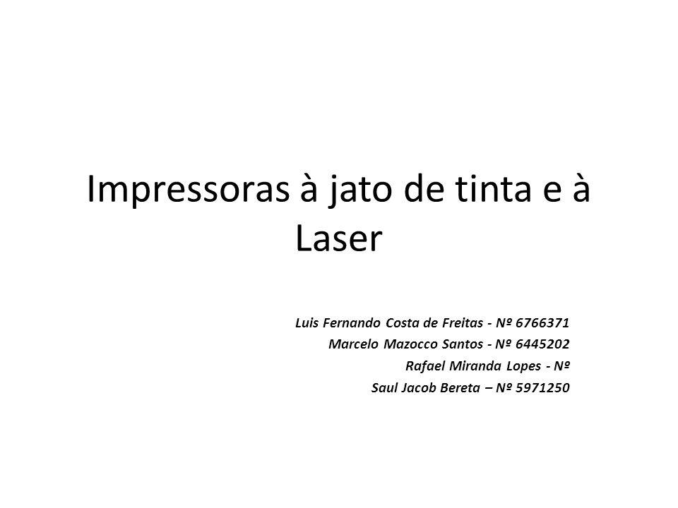 História Impressora a laser Inventada em 1969 pelo pesquisador da Xerox, Gary Starkweather.