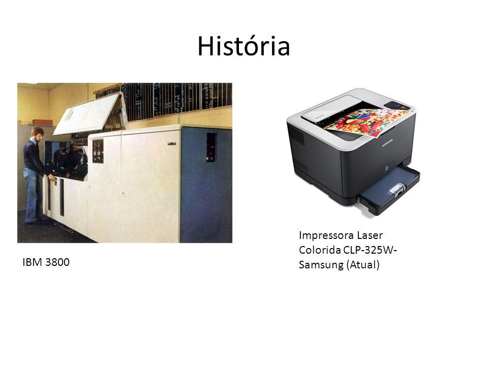 História IBM 3800 Impressora Laser Colorida CLP-325W- Samsung (Atual)