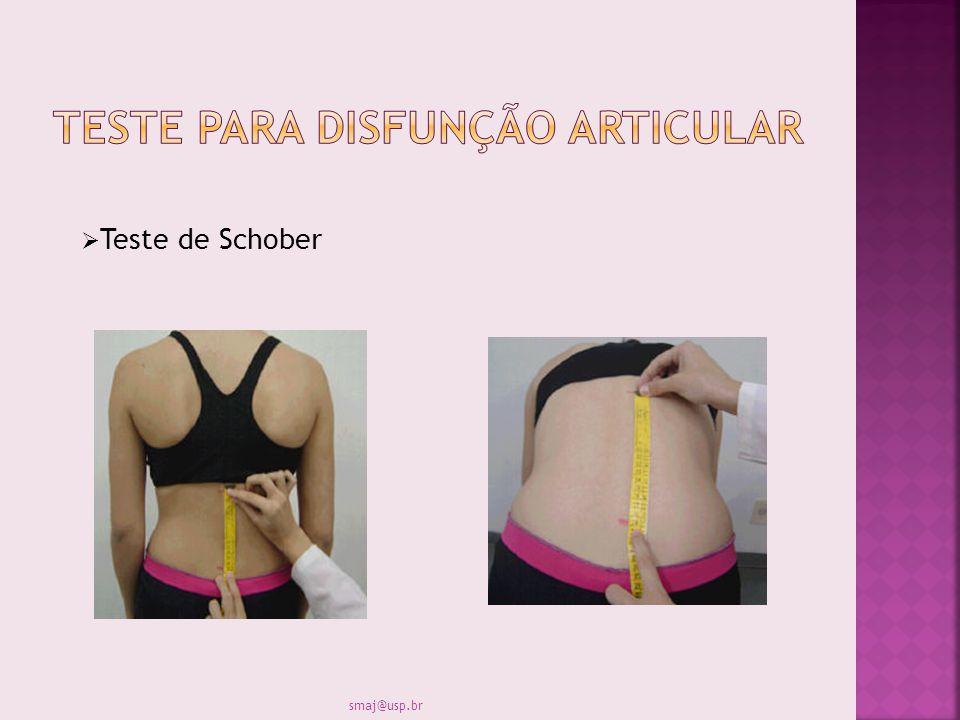 Teste de Schober smaj@usp.br