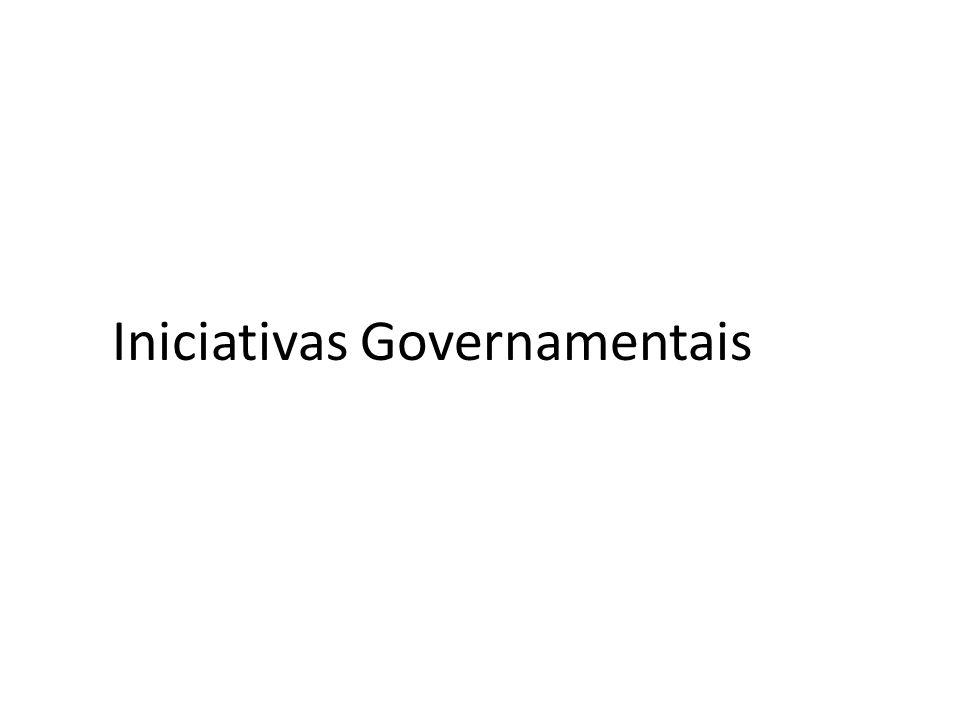 Iniciativas Governamentais